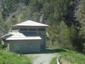 centrale électrique en Queyras